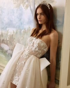 "Galia Lahav on Instagram: ""ONE GOWN, TWO LOOKS // Our #Ballerina is perfect for that ceremony to party transition. Available at #GLMiami now! Book an appointment on…"" Gossip Girl Wedding, Chic Wedding, Wedding Styles, Wedding Ideas, Fall Wedding Dresses, Bridal Dresses, Wedding Gowns, Wedding Attire, Marshall Dresses"