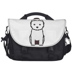Cairn Terrier Dog Cartoon Bags For Laptop