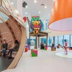 Fantastic new interactive play area at The Royal London Hospital's Children's Hospital designed by Cottreel & Vermelen and Morag Mysercough.
