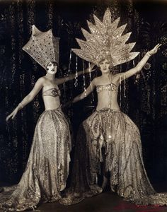 It's the Philbin Sisters, circa 1926. But we're certain these girls were real shakers.