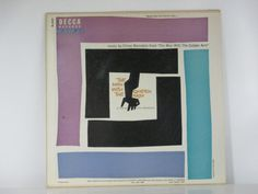 Saul Bass Record Album Design 1955 The Man With The Golden Arm on Etsy, $20.00