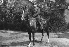 A young Hussar in Kaunas in 1935
