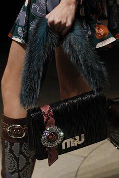Miu Miu Fall 2017 Ready-to-Wear Accessories Photos - Vogue