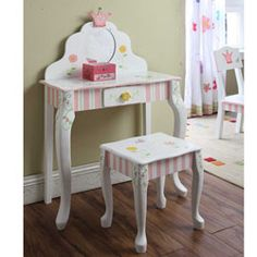 Princess and Frog Vanity Table & Chair Set