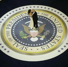 Mr & Mrs PRESIDENT Of the USA--
