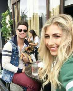 Just having a morning discussion here about the best hangover breakfast. Not that we're hanging. Just curious. by emmaslaterdance Hangover Breakfast, Sasha Farber, Emma Slater, Professional Dancers, Famous Couples, Cute Couples, Power Couples, Dancing With The Stars, Kurt Cobain