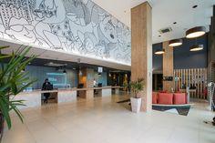 RECEPÇÃO- Hangar Business Park - Galeria de Imagens   Galeria da Arquitetura