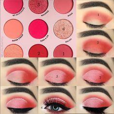 #EyeMakeupGlitter Beautiful Eye Makeup, Natural Eye Makeup, Natural Eyes, Stunning Eyes, Eyeshadow Looks, Eyeshadow Makeup, Makeup Cosmetics, Face Makeup, Eye Makeup Steps