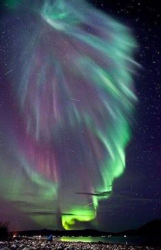 True lights of our universe ~ Aurora Borealis, Norway.