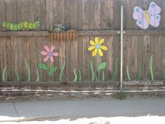 Wall Murals by Colette: Playroom, Daycare & Pre-School Wall Murals