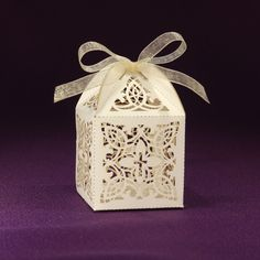 Popular as a gift for your guests, as a thank you for being a part of the special day, these laser cut religious favor boxes are perfect for baptisms, first communions, confirmations or weddings. Communion, Laser Cut Box, Colored Paper, Favor Bags, Special Day, Tea Lights, Party Favors, Orchids, Decorative Boxes