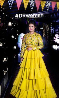 Vradhi dress Lehenga Gown, Lehnga Dress, Party Wear Lehenga, Pakistani Dress Design, Pakistani Dresses, Indian Dresses, Indian Designer Outfits, Designer Gowns, Beautiful Dress Designs