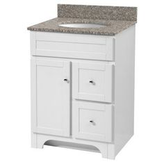 Foremost Worthington 24 in. Single Bathroom Vanity - WRWA2421D