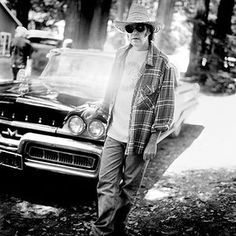 Neil Young. 1997, Redwood Forest, California, USA