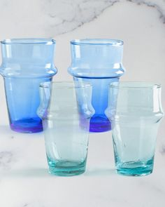 The Casablanca Tea Glasses by HomeMint.com, $14.99.  I really want the light blue ones!