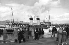 Undated picture of Rothesay Prom.
