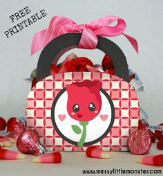 Valentine's Day Gift Bag Printable
