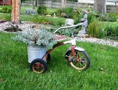 Pedals & Petals,... garden bicycles | Flea Market Gardening