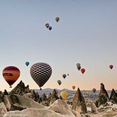 Magical Experience Riding Cappadocia Hot Air Balloons in Turkey
