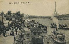 Un dimanche au quai du Point-du-Jour... Versailles, Pont Paris, Paris 1900, Lyon France, I Love Paris, Vintage Paris, Paris Photos, Kingfisher, Tour Eiffel