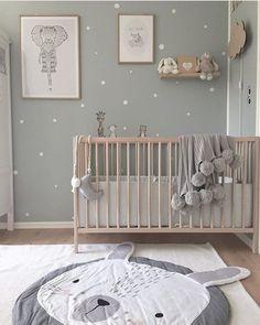 """Relooking et décoration Image Description 365 likes, 3 Comments – Déco d'enfants / Nursery Decor (Jennifer Verde) sur Instagram: """"Espace absolument adorable via @villarostille, merci de nous taguer !!! . # interiordesign … """"#babynurserydecor"""