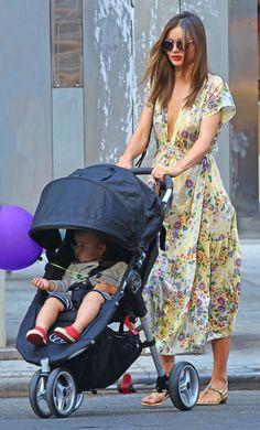 Flynn Bloom Pictures - Miranda Kerr Taking Flynn Shopping At Baby Gap - Zimbio
