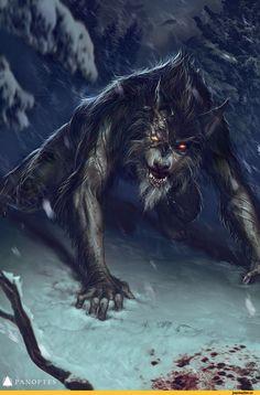 werewolf,оборотень,Мрачные картинки,красивые картинки,Тёмное фэнтези,Fantasy,Fantasy art,art,арт