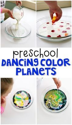 Space Activities For Preschoolers, Space Theme Preschool, Space Activities For Kids, Science Experiments For Preschoolers, Preschool Activities, Space Theme For Toddlers, Science Toddlers, Science Crafts For Kids, Kid Science