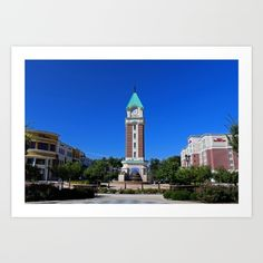 levis, commons, shopping, tower, clock, perrysburg, ohio, michiale, schneider, photography