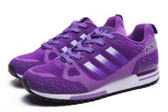 Spring and Summer style Adidas ZX750 Womens Purple Running Shoes