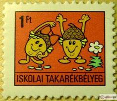 Mi is gyűjtöttük a bélyeget , TE IS ? Illustrations And Posters, Postage Stamps, Hungary, Budapest, Vintage Posters, Childhood Memories, Old School, Design Art, Retro Vintage