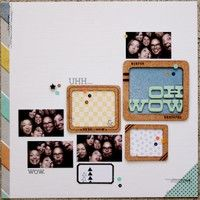 Oh Wow by crafty.kari from our Scrapbooking Gallery originally submitted 09/23/13 at 11:24 PM