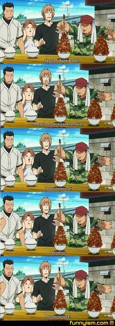 Luffy would be proud! Gin No Saji