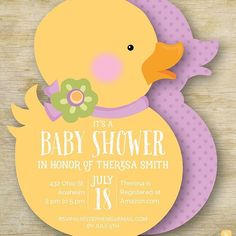 Planning a Baby Shower? We got you covered with our darling die cut invites. Shop the full collection at www.juliebluet.com or www.juliebluet.etsy.com