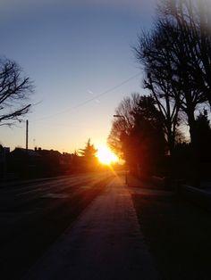 Morning Red Sky