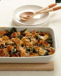 Crispy Baked Kale with Gruyère Cheese