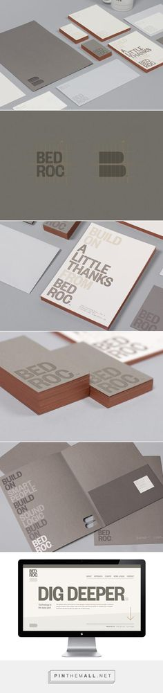 Bedroc Identity Design by Perky Bros LLC