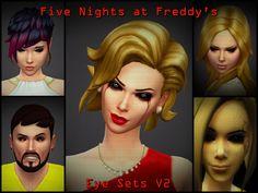 Sims 4 Five Nights at Freddy's Phantom Animatronic Eyes