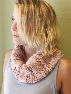DIY: knit cowl