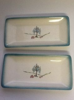 Brock of California butter plates