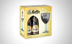 Leffe Brune Pack 4 botellas 33cl + copa http://www.doferta.com