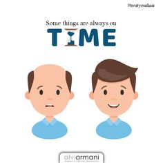 Some things are always on time. Book your free consultation today! Call us at 11 259 9009 Always On Time, Ad Of The World, Hair Transplant, Books, Free, Fictional Characters, Hair, Libros, Book