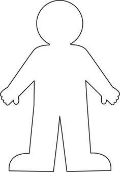 body outline printable