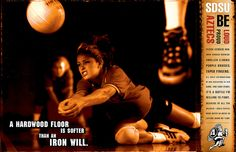 Volleyball Poster by Beauchamp Studios, via Flickr