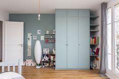 Rénovation d'un appartement de 140M2 à Neuilly. Conception Atelier54 réalisation mon concept habitation.