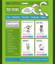Online Shop osCommerce Templates by Oldman