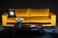 Sofa Rosie - Die Wäscherei - Das Möbelhaus Decor, Furniture, Sofa, Home Decor, Couch, Yellow, Lounge