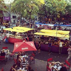 Plaza serrano #palermo #buenosaires