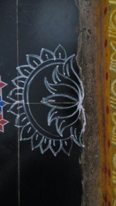 New dancing tattoo sweets Ideas Simple Rangoli Border Designs, Rangoli Simple, Indian Rangoli Designs, Rangoli Designs Flower, Rangoli Borders, Free Hand Rangoli Design, Small Rangoli Design, Rangoli Designs With Dots, Rangoli Designs Images