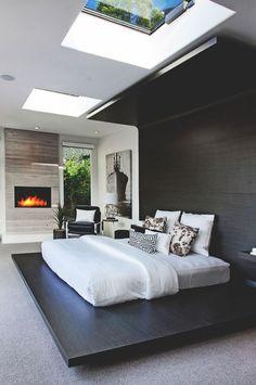 Wohnideen Privat wohnideen schlafzimmer modern pastellfarben polster kopfbrett
